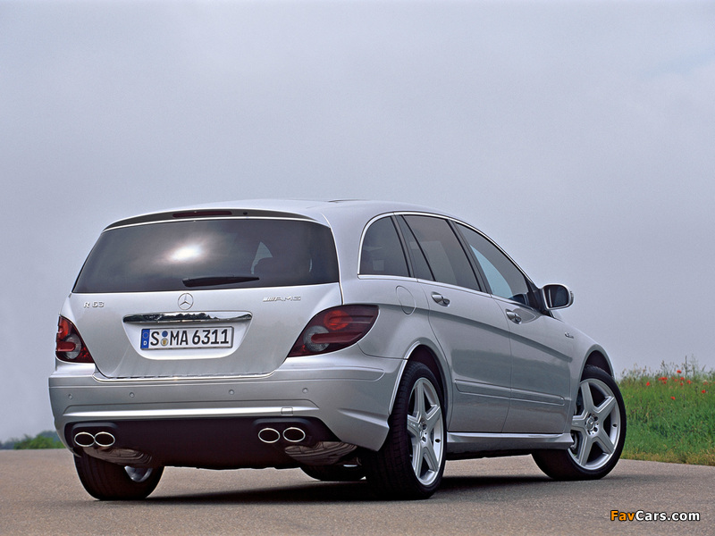 Mercedes-Benz R 63 AMG (W251) 2007–10 wallpapers (800 x 600)