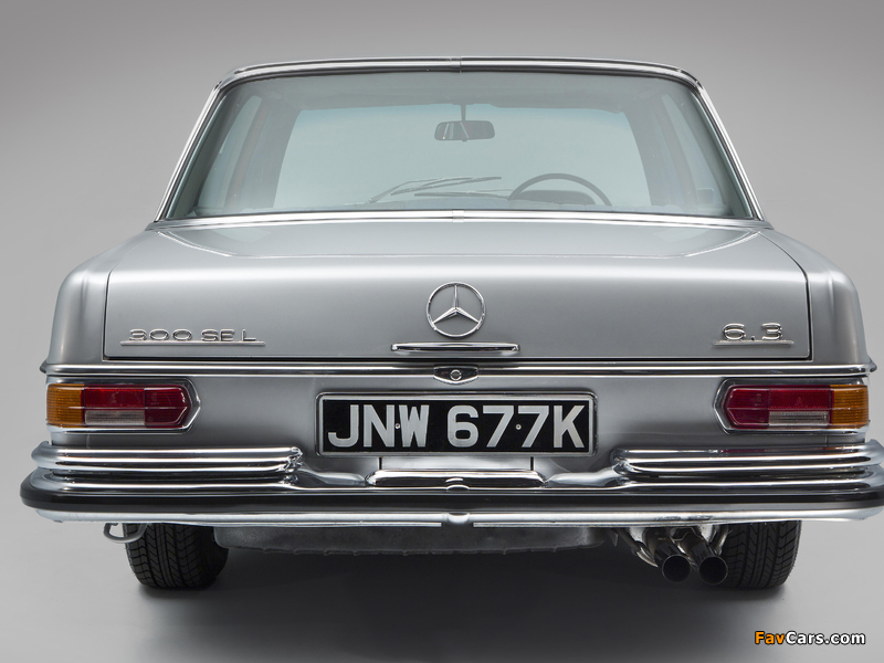 Images of Mercedes-Benz 300 SEL 6.3 UK-spec (W109) 1967–72 (800 x 600)