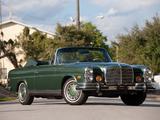Images of Mercedes-Benz 280 SE Cabriolet US-spec (W111) 1967–71
