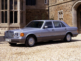 Images of Mercedes-Benz S-Klasse UK-spec (W126) 1979–91