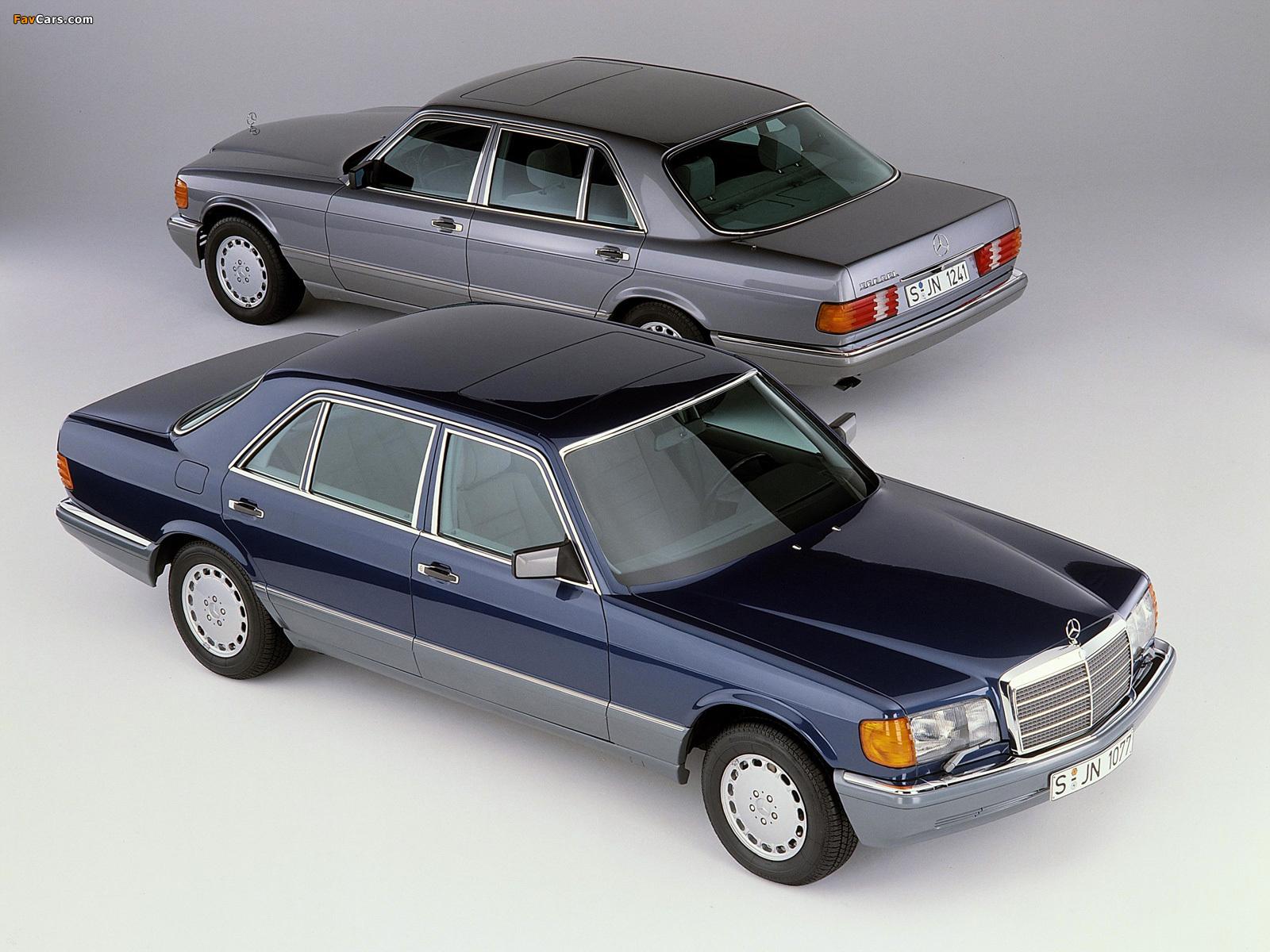 Images of Mercedes-Benz S-Klasse (W126) 1979–91 (1600 x 1200)