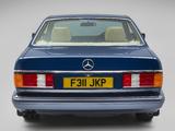 Images of Mercedes-Benz 380 SEC UK-spec (C126) 1981–85