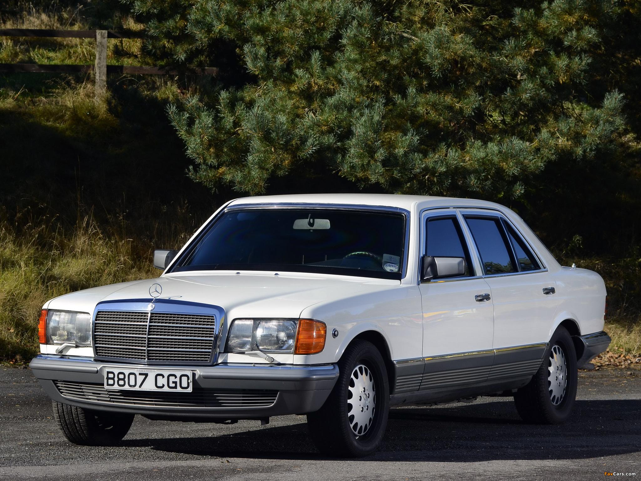 Images of Mercedes-Benz 500 SEL Guard (W126) 1985–91 (2048 x 1536)