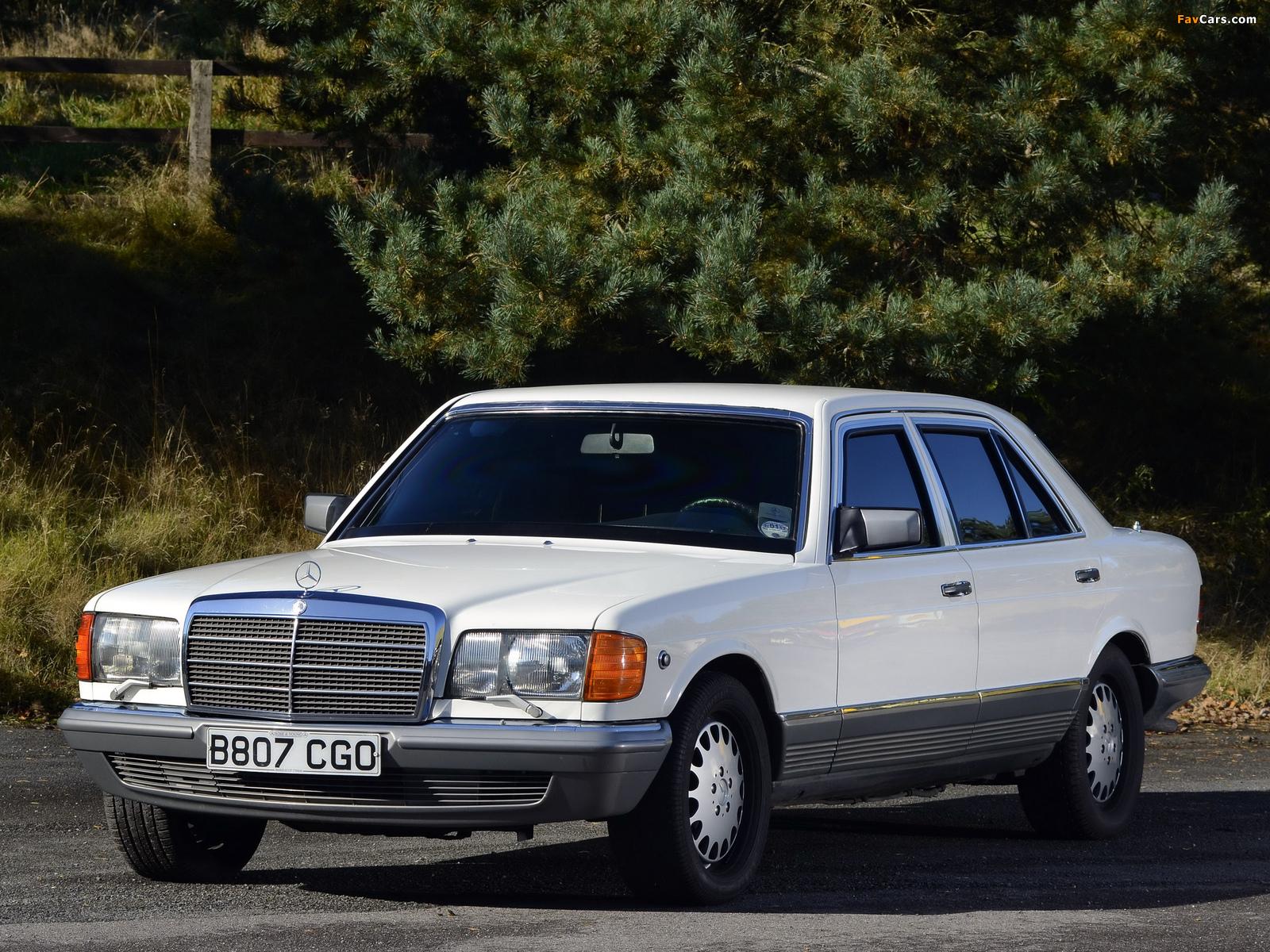 Images of Mercedes-Benz 500 SEL Guard (W126) 1985–91 (1600 x 1200)