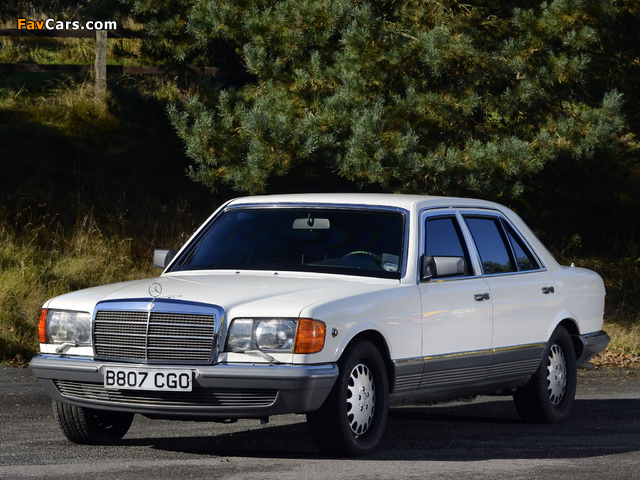 Images of Mercedes-Benz 500 SEL Guard (W126) 1985–91 (640 x 480)