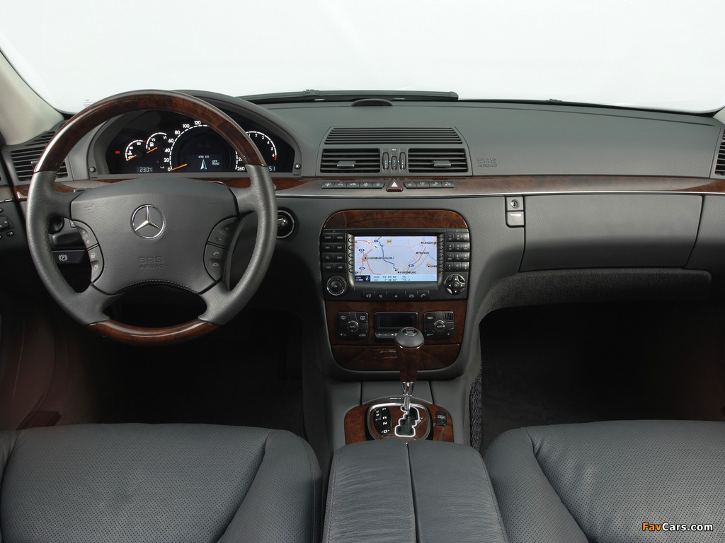 Images of Mercedes-Benz S 280 (W220) 1998–2002 (1024 x 768)