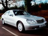 Images of Mercedes-Benz S-Klasse UK-spec (W220) 1998–2002