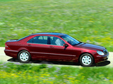 Images of Mercedes-Benz S 400 CDI (W220) 1999–2002