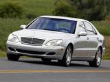 Images of Mercedes-Benz S 600 US-spec (W220) 2002–05