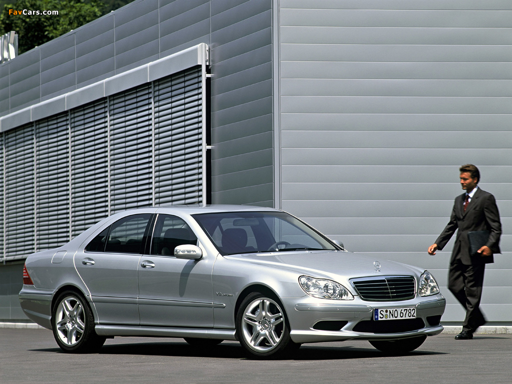 Images of Mercedes-Benz S 55 AMG (W220) 2002–05 (1024 x 768)