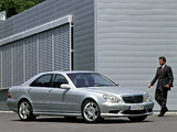 Images of Mercedes-Benz S 55 AMG (W220) 2002–05