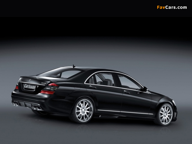 Images of Carlsson Noble CK 65 RS (W221) 2008–09 (640 x 480)
