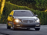 Images of Mercedes-Benz S 63 AMG US-spec (W221) 2009–10