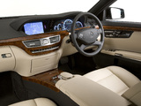 Images of Mercedes-Benz S 350 CDI AMG Sports Package UK-spec (W221) 2009–13