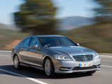 Images of Mercedes-Benz S 500 4MATIC AMG Sports Package (W221) 2009–13