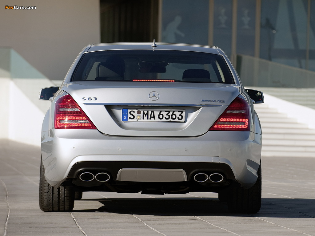 Images of Mercedes-Benz S 63 AMG (W221) 2009–10 (1024 x 768)