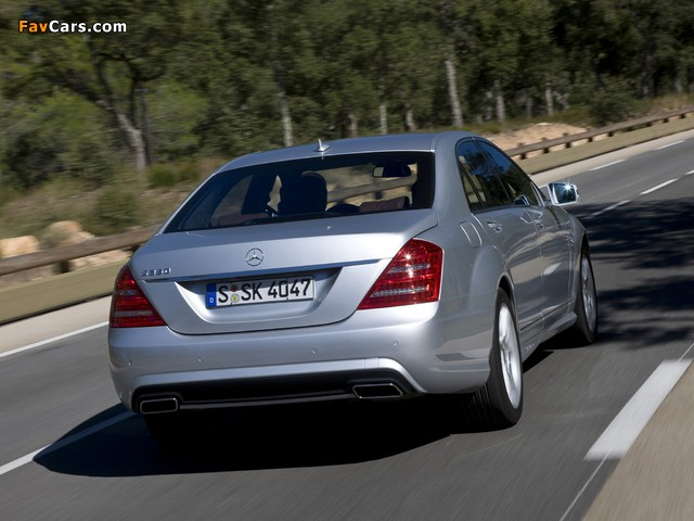 Images of Mercedes-Benz S 350 BlueEfficiency AMG Sports Package (W221) 2010–13 (640 x 480)