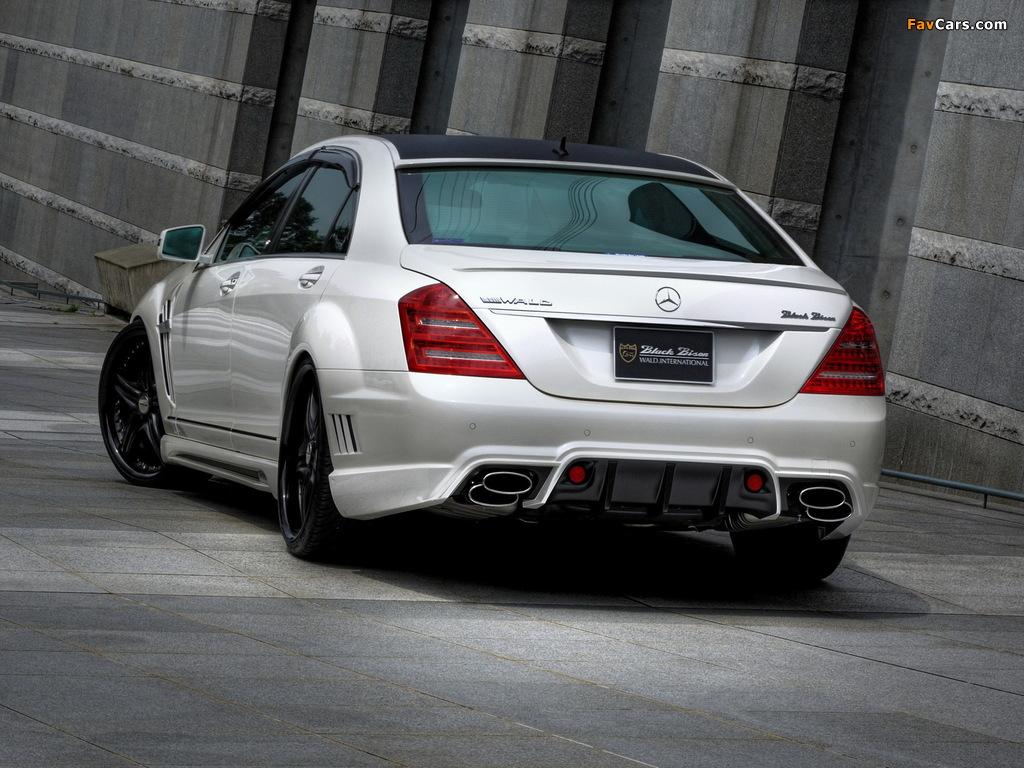 Images of WALD Mercedes-Benz S-Klasse Black Bison Edition Sports Line (W221) 2010–13 (1024 x 768)