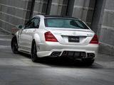 Images of WALD Mercedes-Benz S-Klasse Black Bison Edition Sports Line (W221) 2010–13