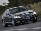 Images of Mercedes-Benz S 350 BlueTec AU-spec (W221) 2010–13