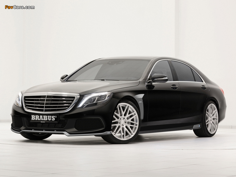 Images of Brabus Mercedes-Benz S-Klasse (W222) 2013 (800 x 600)
