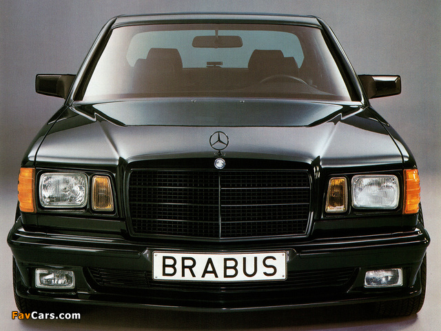 Images of Brabus Mercedes-Benz 560 SEL 6.0 (W126) (640 x 480)