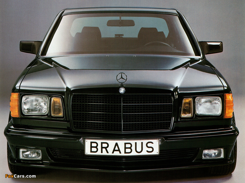 Images of Brabus Mercedes-Benz 560 SEL 6.0 (W126) (800 x 600)