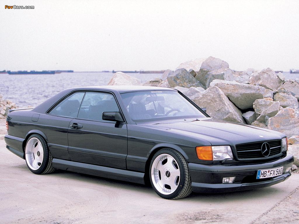 Images of WALD Mercedes-Benz S-Klasse Coupe (C126) (1024 x 768)