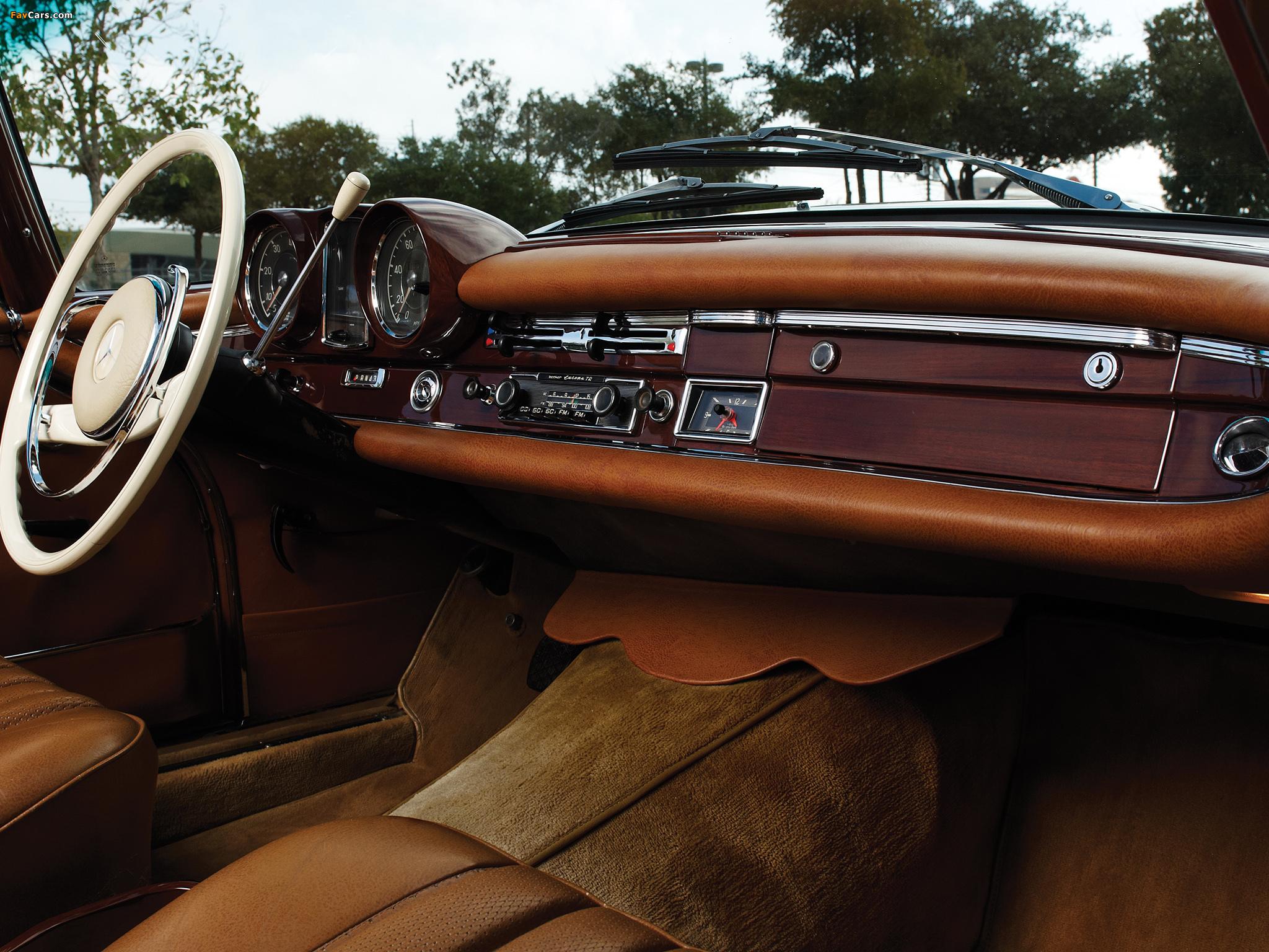 Mercedes-Benz 220 SE Cabriolet US-spec (W111) 1961–65 images (2048 x 1536)