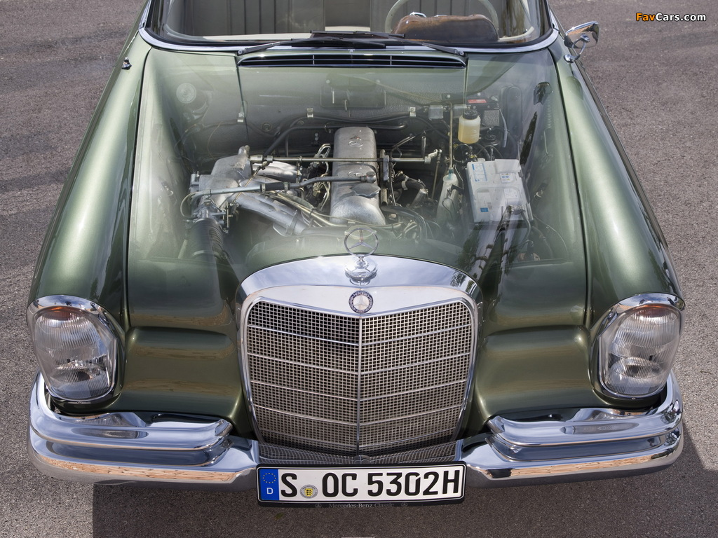 Mercedes-Benz 220 SE Cabriolet (W111) 1961–65 pictures (1024 x 768)