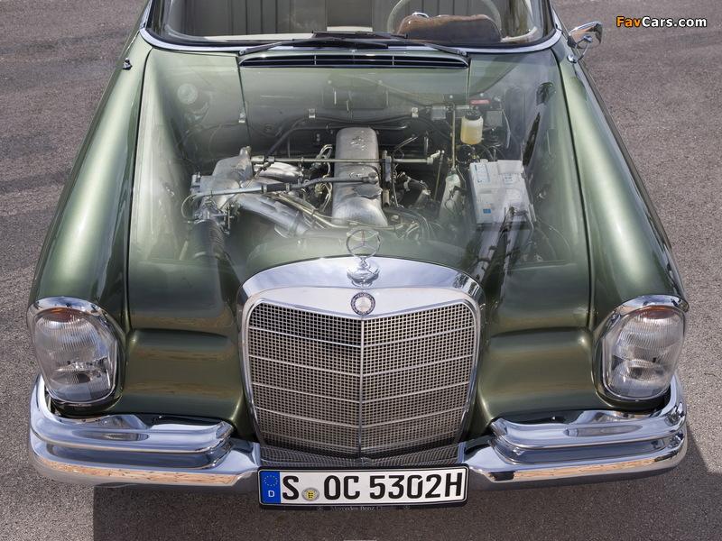Mercedes-Benz 220 SE Cabriolet (W111) 1961–65 pictures (800 x 600)
