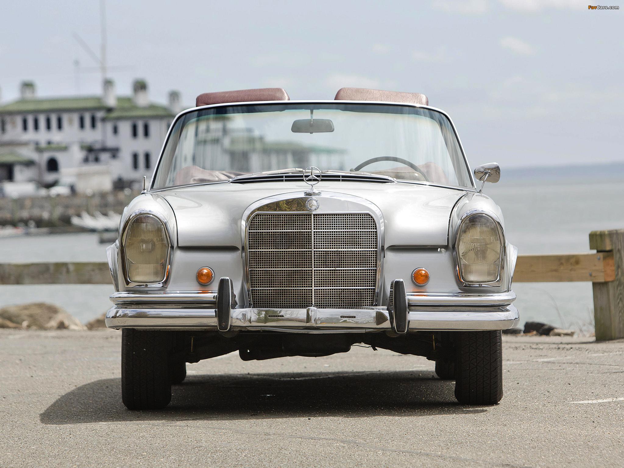 Mercedes-Benz 220 SE Cabriolet US-spec (W111) 1961–65 pictures (2048 x 1536)