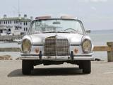 Mercedes-Benz 220 SE Cabriolet US-spec (W111) 1961–65 pictures
