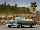Mercedes-Benz 220 SE Cabriolet (W111) 1961–65 wallpapers