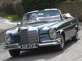 Mercedes-Benz 300 SE Cabriolet UK-spec (W112) 1962–67 images
