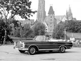 Mercedes-Benz 300 SE Cabriolet (W112) 1962–67 photos
