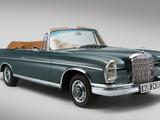Mercedes-Benz 300 SE Cabriolet UK-spec (W112) 1962–67 photos