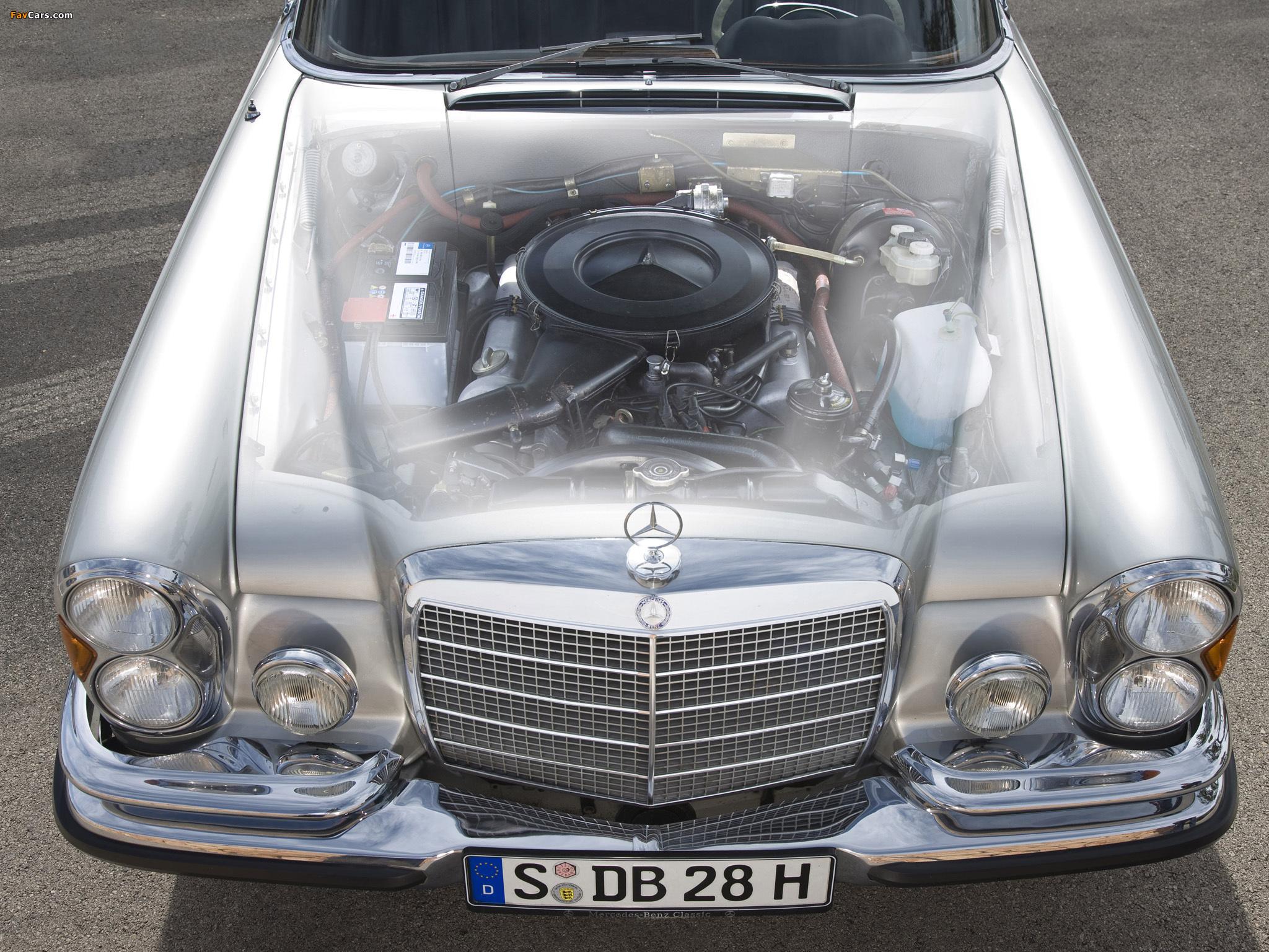 Mercedes-Benz 280 SE Cabriolet (W111) 1967–71 images (2048 x 1536)