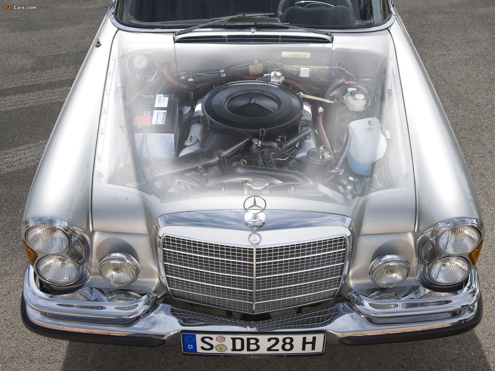 Mercedes-Benz 280 SE Cabriolet (W111) 1967–71 images (1600 x 1200)