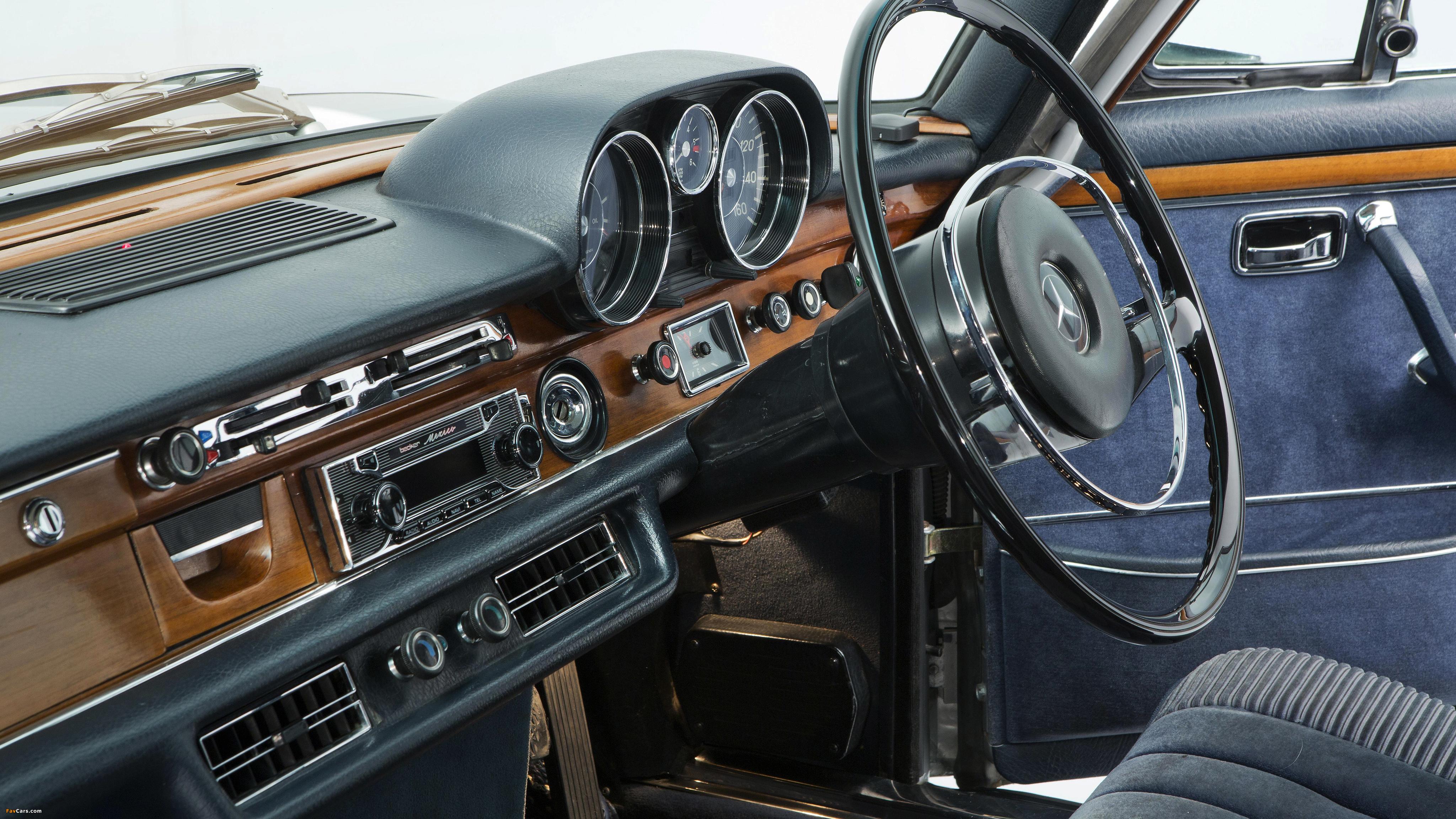 Mercedes-Benz 300 SEL 6.3 UK-spec (W109) 1967–72 images (4096 x 2304)