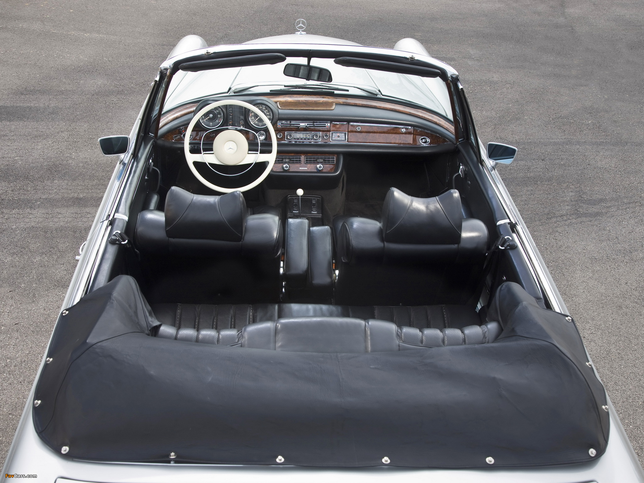 Mercedes-Benz 280 SE Cabriolet (W111) 1967–71 pictures (2048 x 1536)