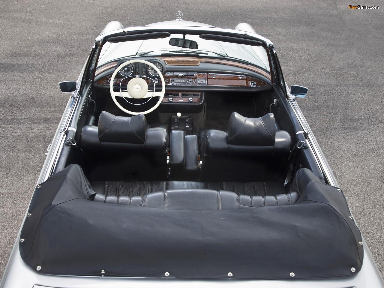 Mercedes-Benz 280 SE Cabriolet (W111) 1967–71 pictures (1280 x 960)