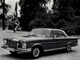 Mercedes-Benz 280 SE Coupe (W111) 1967–71 pictures