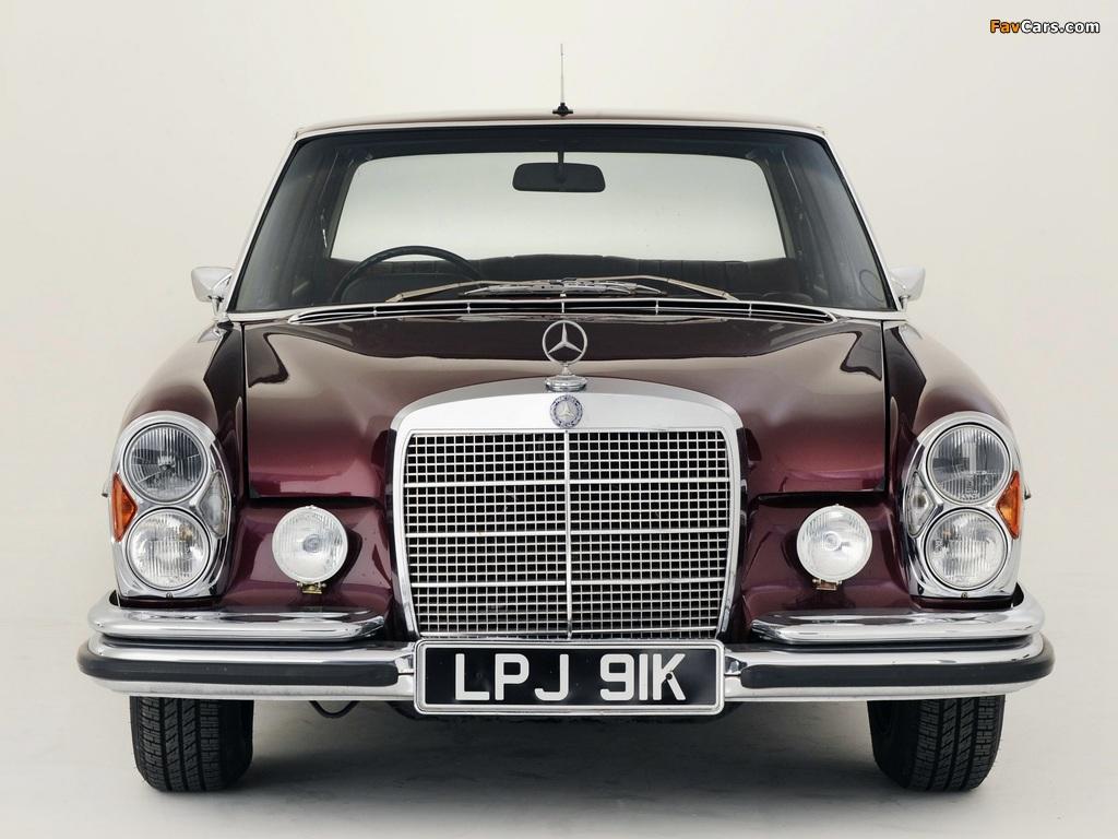 Mercedes-Benz 300 SEL 6.3 UK-spec (W109) 1967–72 wallpapers (1024 x 768)