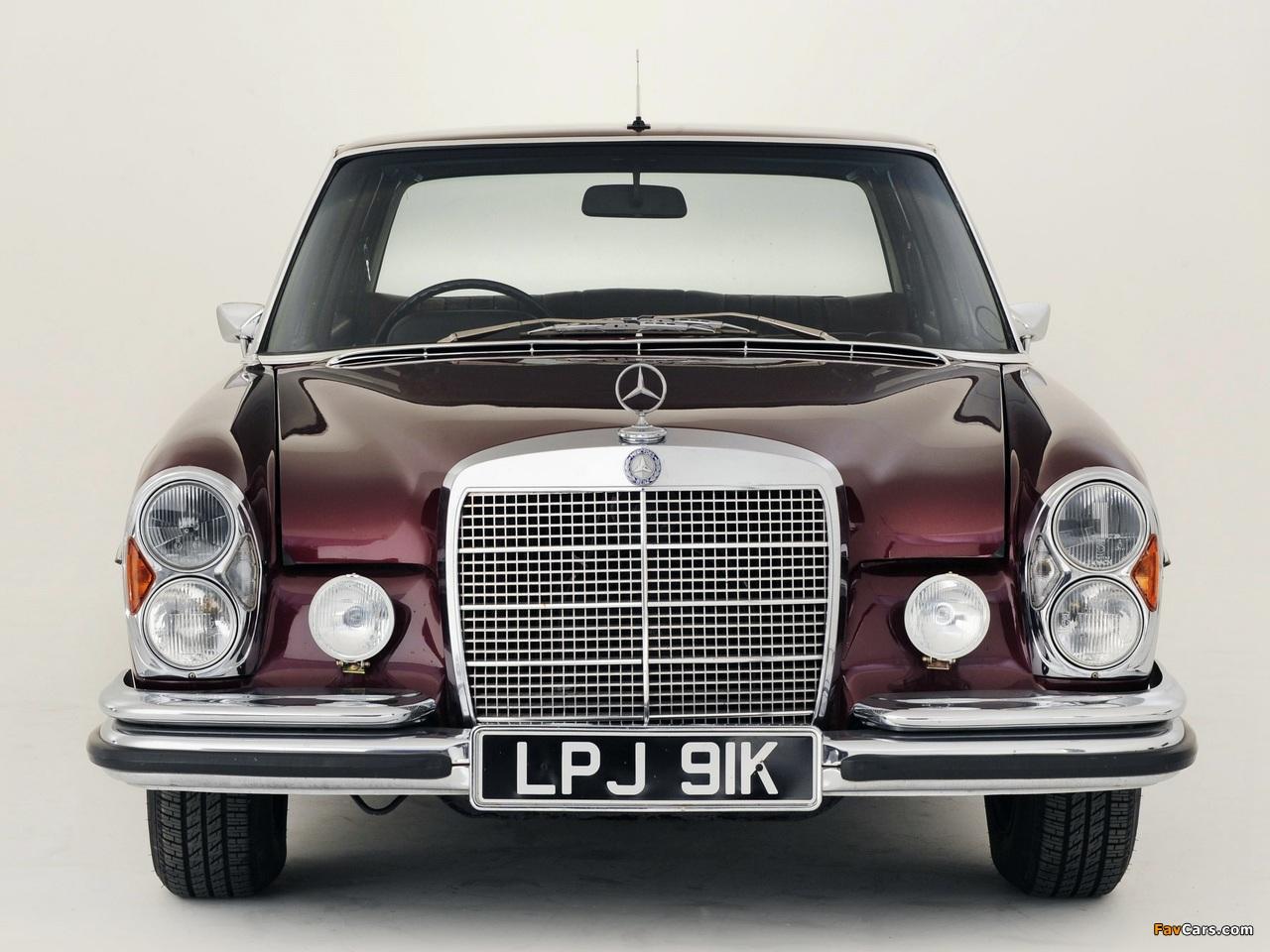 Mercedes-Benz 300 SEL 6.3 UK-spec (W109) 1967–72 wallpapers (1280 x 960)