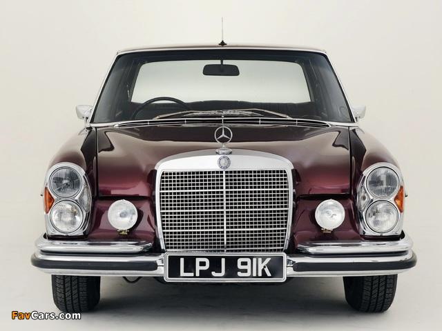 Mercedes-Benz 300 SEL 6.3 UK-spec (W109) 1967–72 wallpapers (640 x 480)