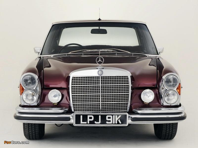 Mercedes-Benz 300 SEL 6.3 UK-spec (W109) 1967–72 wallpapers (800 x 600)