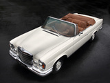 Mercedes-Benz 280 SE 3.5 Cabriolet (W111) 1969–71 wallpapers