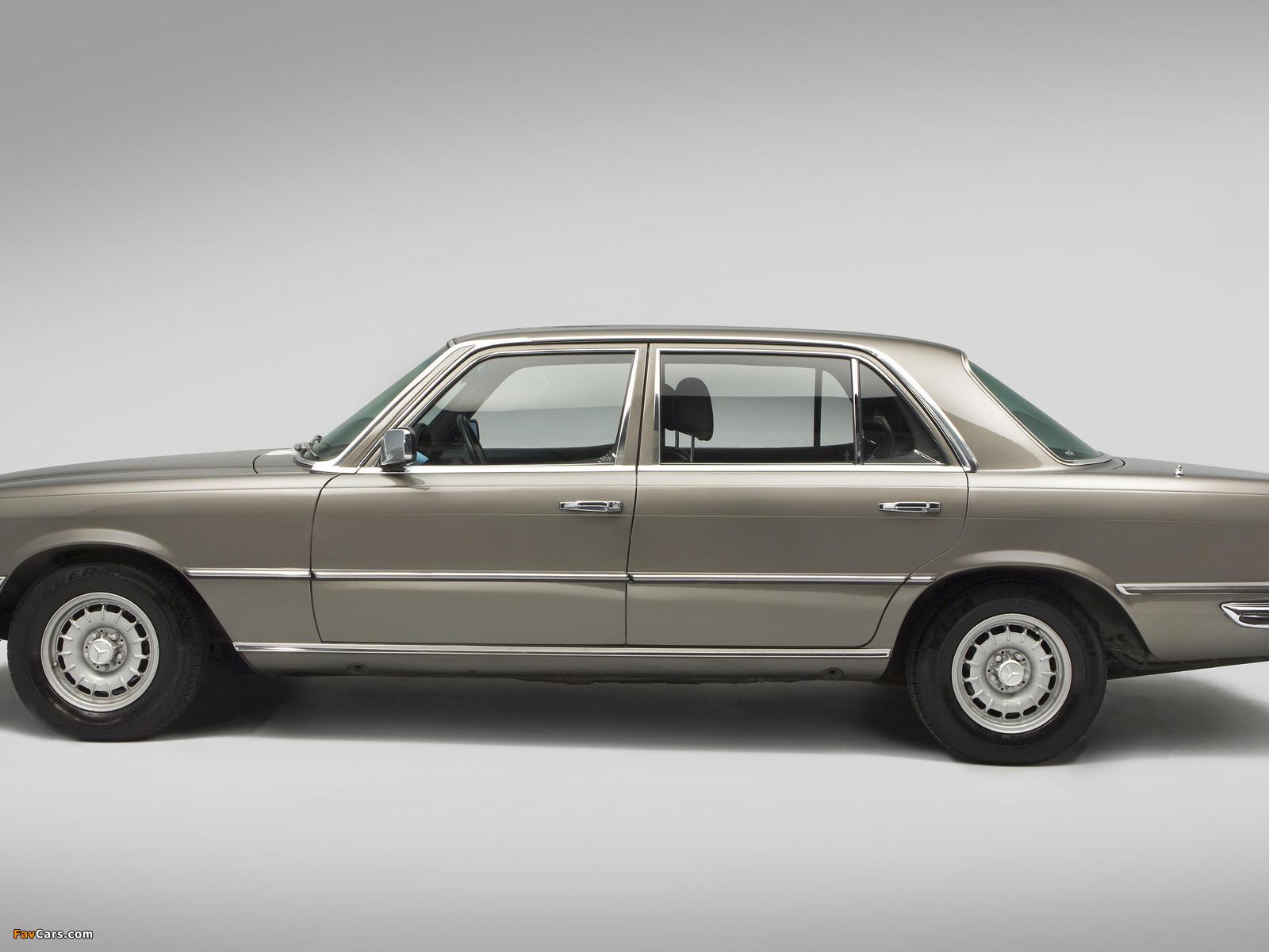 Mercedes-Benz 450 SEL UK-spec (W116) 1972–80 pictures (1600 x 1200)