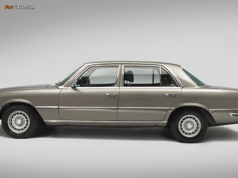 Mercedes-Benz 450 SEL UK-spec (W116) 1972–80 pictures (800 x 600)